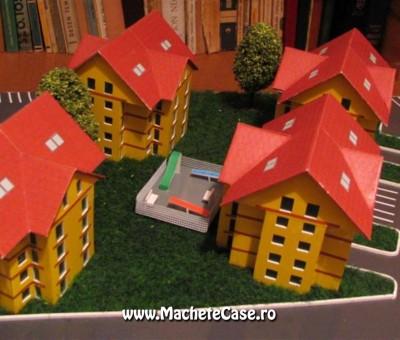 Proiect Kadna – Machetă cartier de blocuri