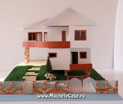 Machetă Casa Container cu etaj