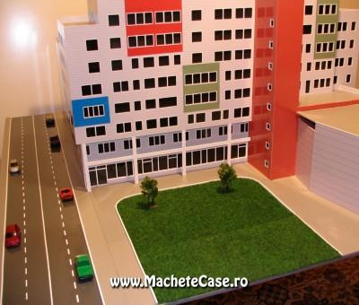 Proiect Nisco – Machetă centru comercial