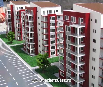 Proiect Elco – Machetă cartier de blocuri