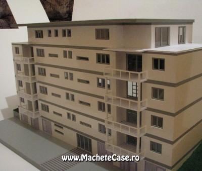 Proiect Elveția 2 – Machetă bloc de locuințe