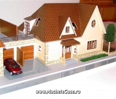 Proiect Iris – Machetă casă duplex